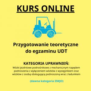 Kurs online Przygotowanie teoretyczne do egzaminu UDT