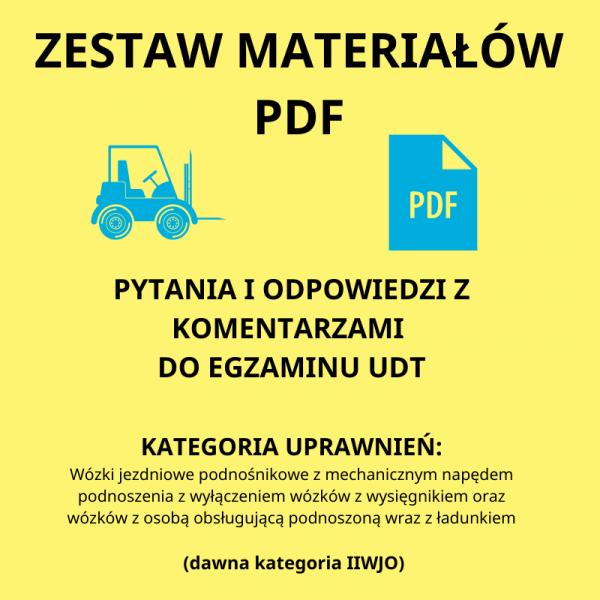 Zestaw materiałów pdf pytania z odpowiedziami
